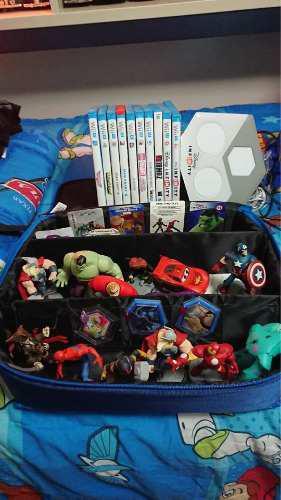 Nintendo wii u + disney infinito 2.0 + 10 juegos etc...