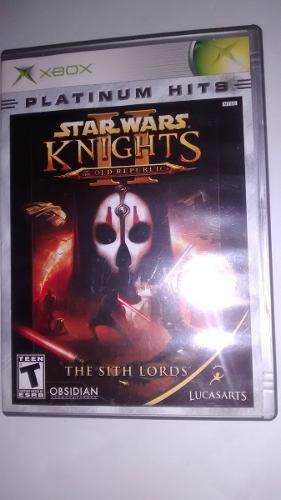 Star wars knights of the old republic 2 - x-box clasico