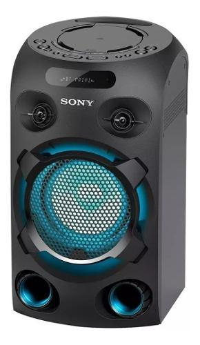 Torre de audio sony mhc-v02 bluetooth usb fm karaoke