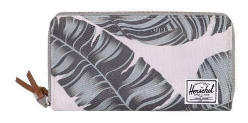 Billetera de mujer herschel supply co thomas silver palm