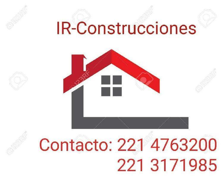 Construcciones, reparaciones,