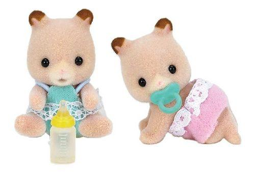 Hamster bebes gemelos sylvanian families intek 23sy
