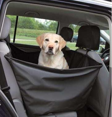 Huron perro mascota funda auto de 1 plaza laterales altos