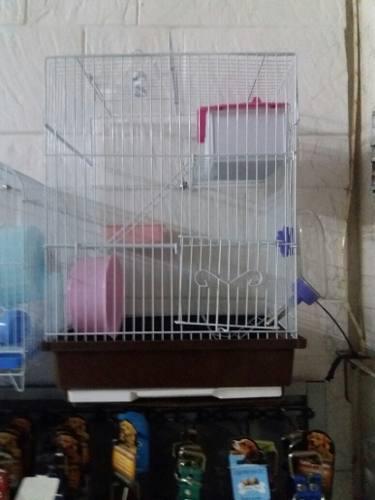 Jaula hamstera doble piso