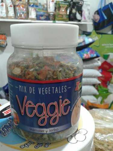 Mix de vegetales para hamsters y jerbos x 100 grs