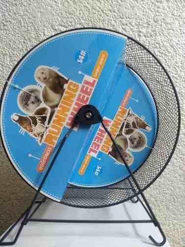 Rueda ejercicio chinchilla 32 cm diámetro