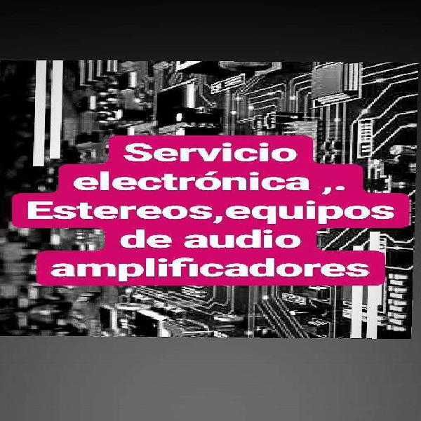 Servicio y reparacion, electrónica