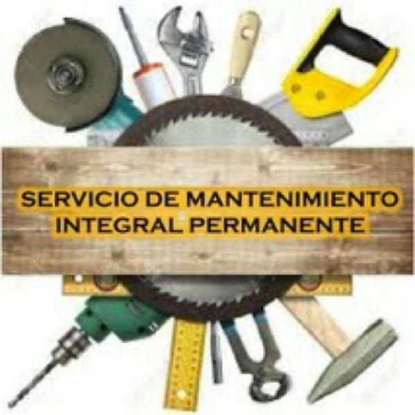 Servicio de mantenimiento y construcción