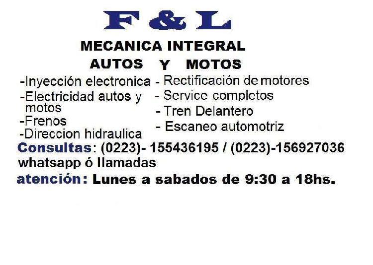 Taller f&l mecanica integral motos y autos
