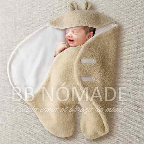 Enterito porta enfant orejitas corderito polar bebé 0 a 6