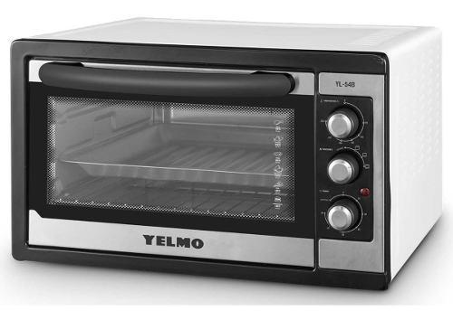 Horno eléctrico yelmo yl54b 54 lts 1500w 230ºc pizza boom