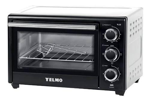 Horno electrico yelmo 23 lts grill yl-23 1380w bandeja