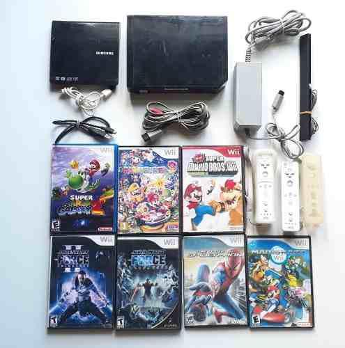 Nintedo Wii Completa + Juegos