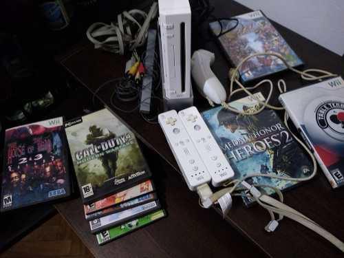 Wii flasheada completa incluye juegos