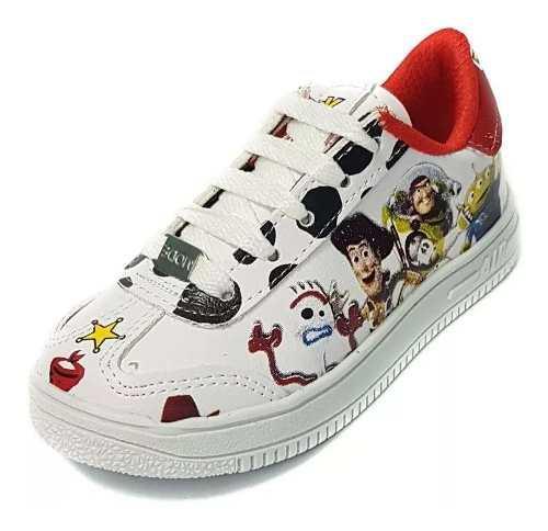 Zapatillas de toy story 4, nene y nena. talle 27 al 34