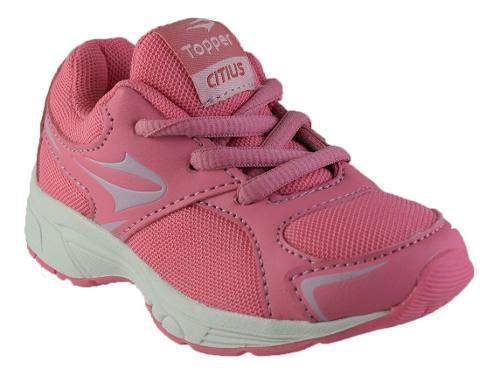 Zapatillas topper citius bebes rosa neón