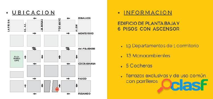 DEPARTAMENTO AL POZO EN ROSARIO CENTRO - OPORTUNIDAD DE INVERSION 1