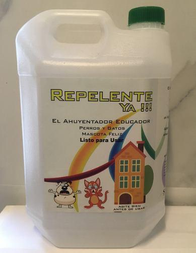 Ahuyenta gatos y perros mascotas listo para usar x 5 lt