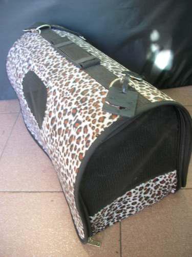 Bolso de transporte semi-rígido para perro o gato grande