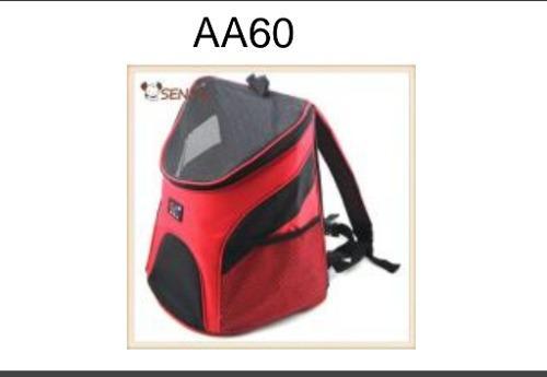 Bolso mochila de transporte de mascota aa60