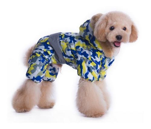 Buzo campera capucha impermeable corderito perros pequeños