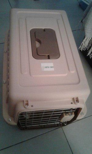 Caja canil de transporte perro y gato nro. 2