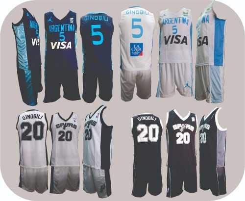 Camiseta de basquet niño talle -12-10-8-6