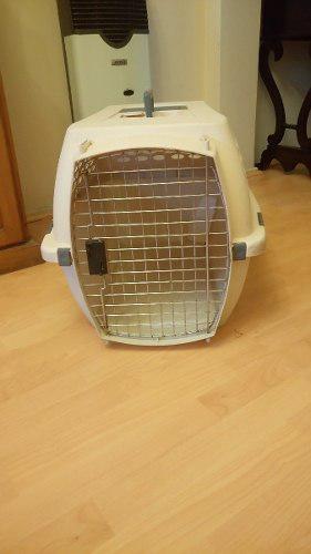 Canil de transporte para perros apta para viaje en avión