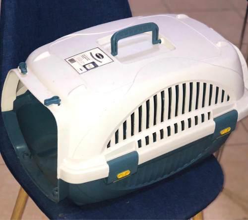 Jaula transportadora de perro chico