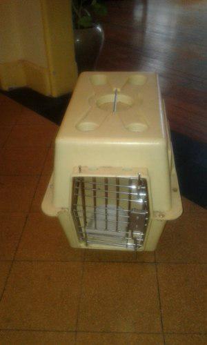 Jaula transportadora gato perro pet viaje 55 x 40 x 25 cm