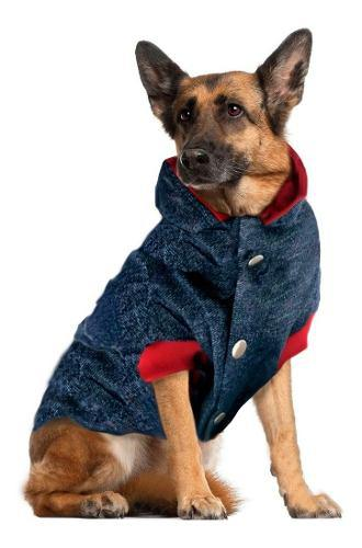Piloto forrado rompeviento perro. con abrigo. talles grandes