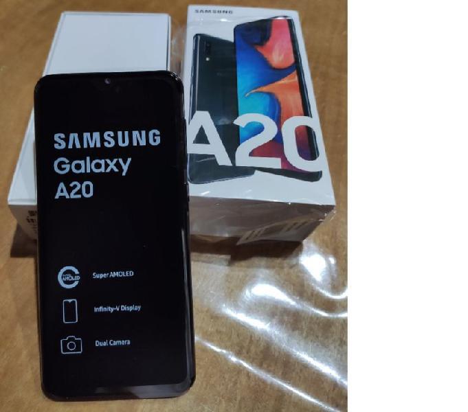 Samsung a 20 de 32 gb en caja nuevo. liberado