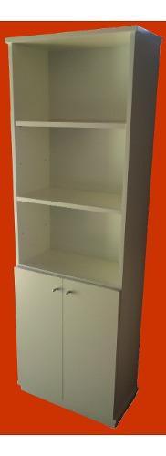 Biblioteca con puertas.estantería para oficina melamina