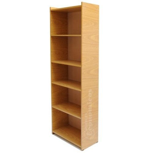 Biblioteca melamina armada 5 estantes - organizador