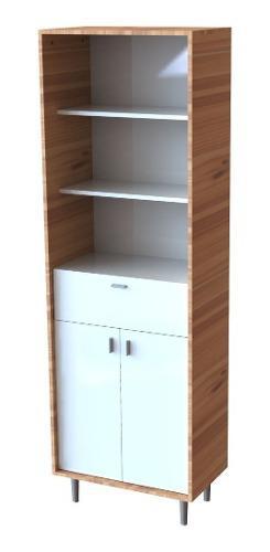 Biblioteca modular nordico apoyo oficina cocina living promo