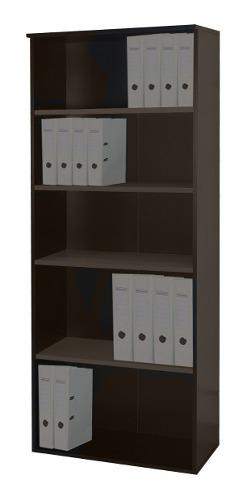 Biblioteca platinum mod 531 estantes librero oficina