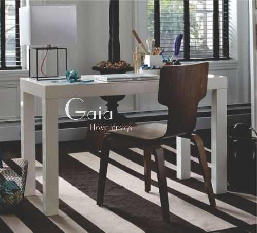 Escritorio asia laqueado moderno mesa oficina 100 x 60 cm.