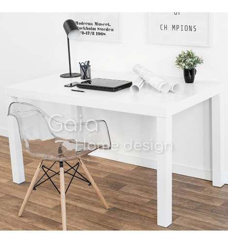 Escritorio asia laqueado moderno mesa oficina 120 x 60 cm.