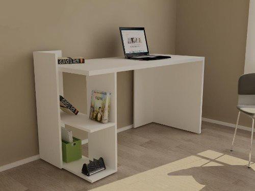 Escritorio moderno mesa pc notebook juvenil muebles oficina