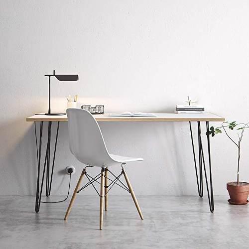 Escritorio moderno + silla eames nuevos aires