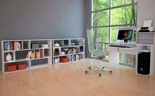 Modulo rack combinables oficina diseño organizadores cubos