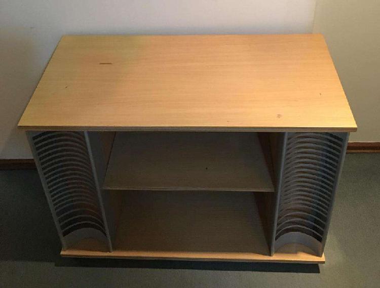 Mueble mesa tv con ruedas