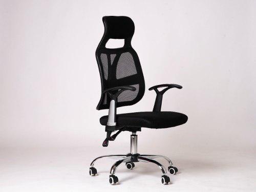 Sillón ejecutivo gerencial tela mesh alto oficina