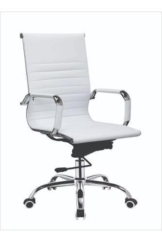 Sillon ejecutivo oficina,silla escritorio pc blanco