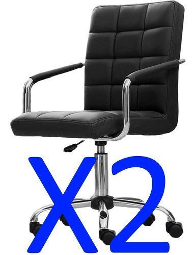 Sillon ejecutivo silla oficina gerencial escritorio pc - x2