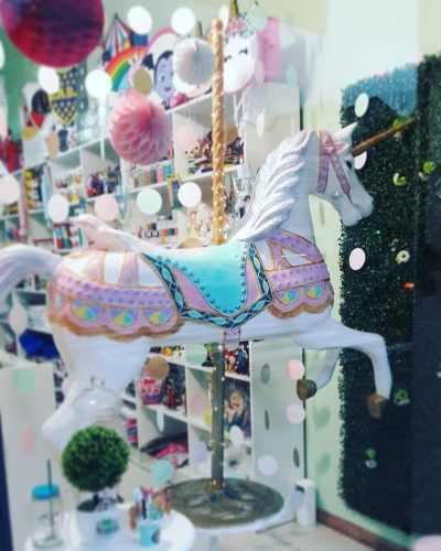Alquiler Caballo Unicornio Calesita