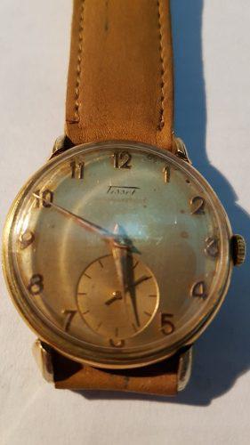 Antiguo reloj a cuerda tissot. tomo art. casa pompeya