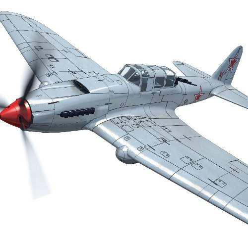 Avion electrico rc il-2 m3 sturm impresion 3d kit (seña