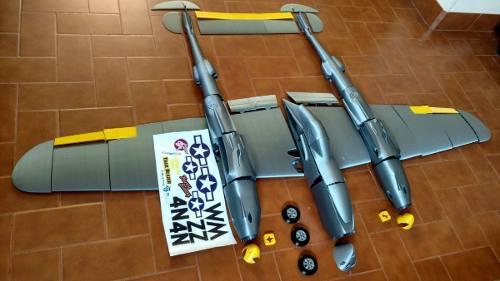 Avion electrico rc p-38 impresion 3d kit (seña 25%)