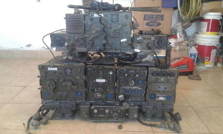 Equipo completo radio militar us army jeep jeep willys con